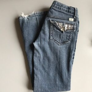 Girls Lei low rise jeans  Size 7 🍁bundle and save